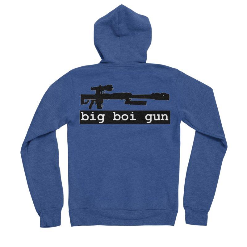 BBG aka Big Boi Gun Women's Sponge Fleece Zip-Up Hoody by SixSqrlStore