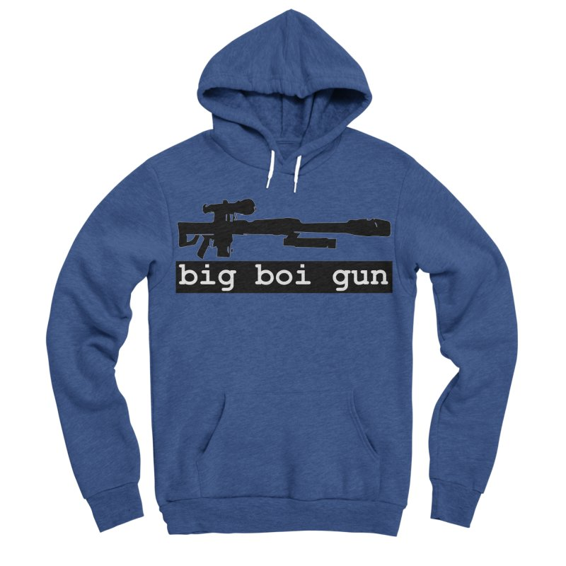BBG aka Big Boi Gun Men's Sponge Fleece Pullover Hoody by SixSqrlStore