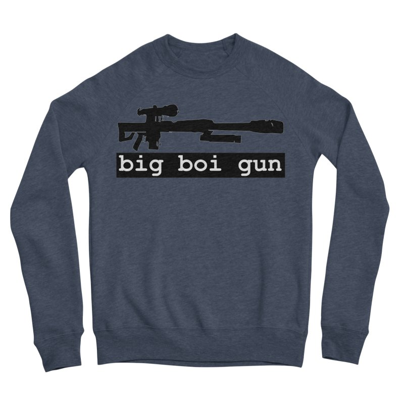 BBG aka Big Boi Gun Men's Sponge Fleece Sweatshirt by SixSqrlStore