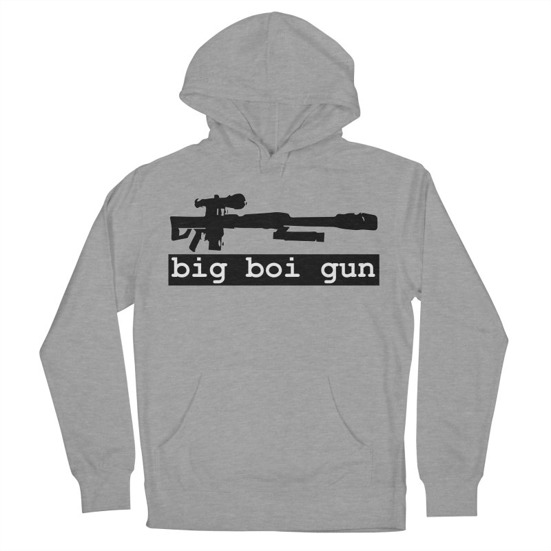 BBG aka Big Boi Gun Women's French Terry Pullover Hoody by SixSqrlStore