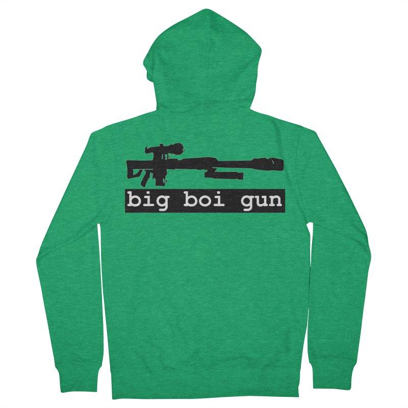 BBG aka Big Boi Gun Women's Zip-Up Hoody by The SixSqrlStore