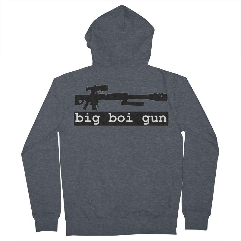 BBG aka Big Boi Gun Women's French Terry Zip-Up Hoody by SixSqrlStore