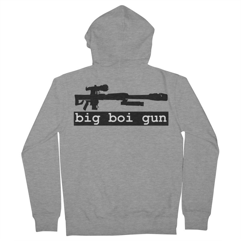 BBG aka Big Boi Gun Women's French Terry Zip-Up Hoody by SixSqrlStore