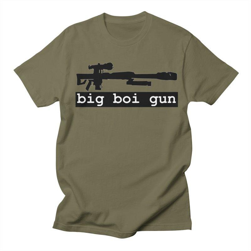 BBG aka Big Boi Gun Men's Regular T-Shirt by SixSqrlStore