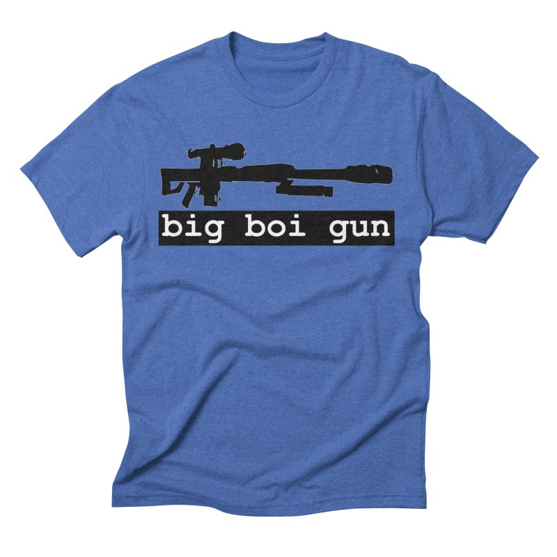 BBG aka Big Boi Gun Men's Triblend T-Shirt by SixSqrlStore
