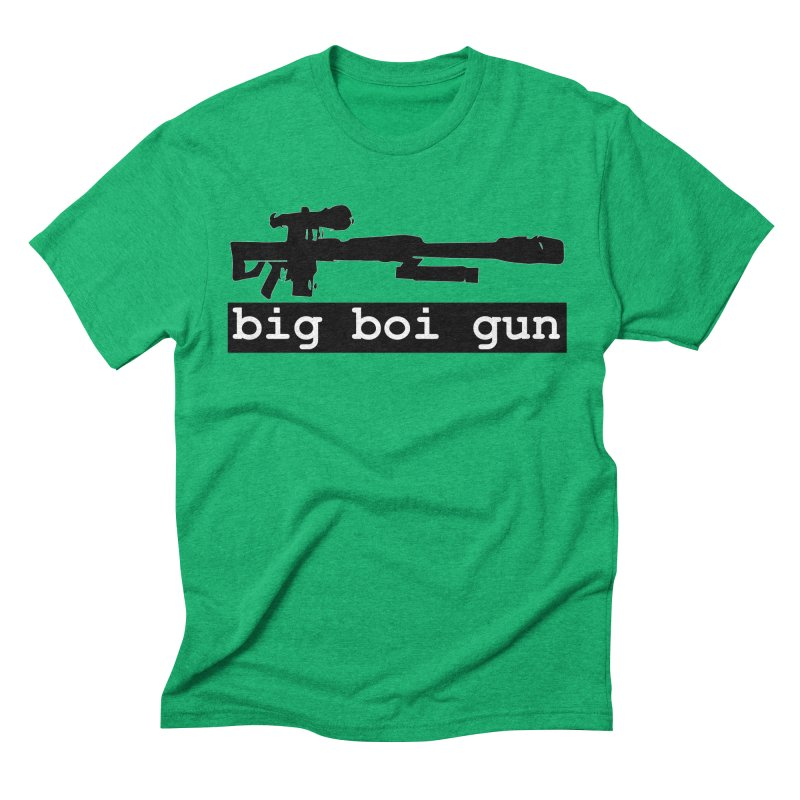 BBG aka Big Boi Gun Men's Triblend T-Shirt by SixSqrlStore