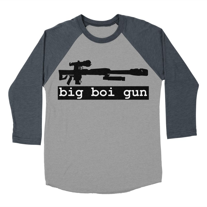 BBG aka Big Boi Gun Women's Baseball Triblend Longsleeve T-Shirt by SixSqrlStore