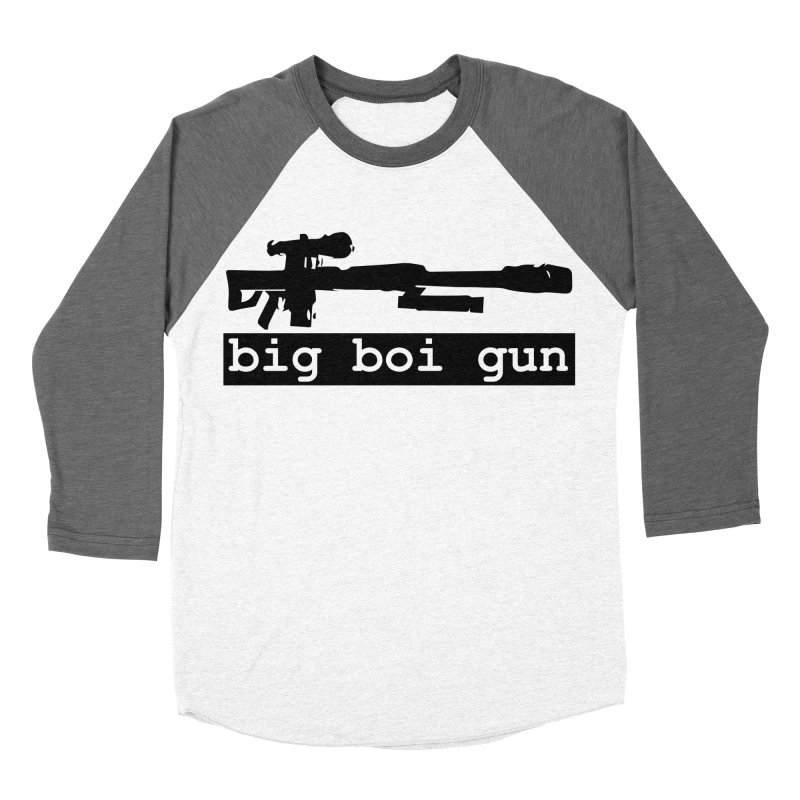 BBG aka Big Boi Gun Men's Baseball Triblend Longsleeve T-Shirt by SixSqrlStore