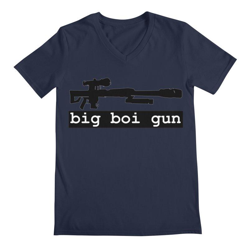 BBG aka Big Boi Gun Men's Regular V-Neck by SixSqrlStore