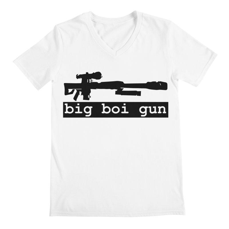 BBG aka Big Boi Gun Men's V-Neck by