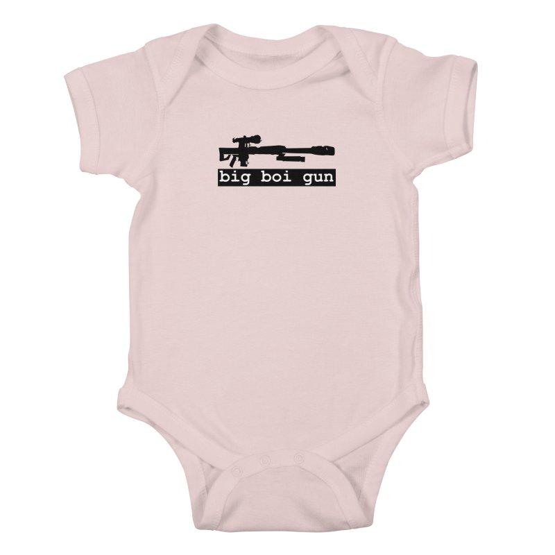 BBG aka Big Boi Gun Kids Baby Bodysuit by SixSqrlStore