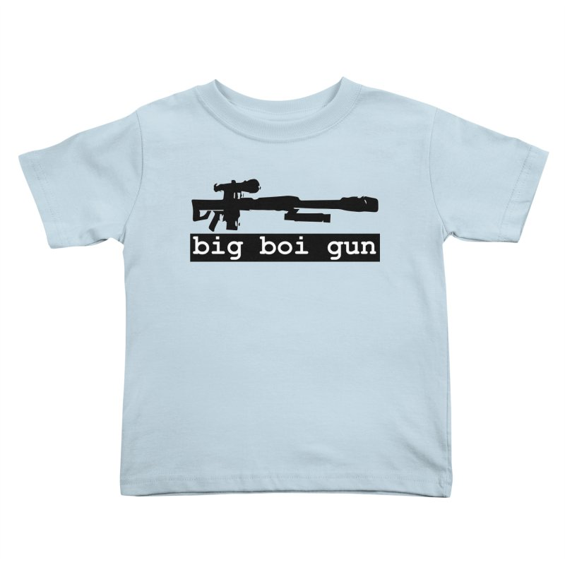 BBG aka Big Boi Gun Kids Toddler T-Shirt by SixSqrlStore