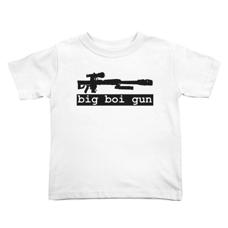 BBG aka Big Boi Gun Kids Toddler T-Shirt by SixSqrlStore