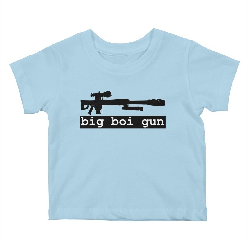 BBG aka Big Boi Gun Kids Baby T-Shirt by SixSqrlStore