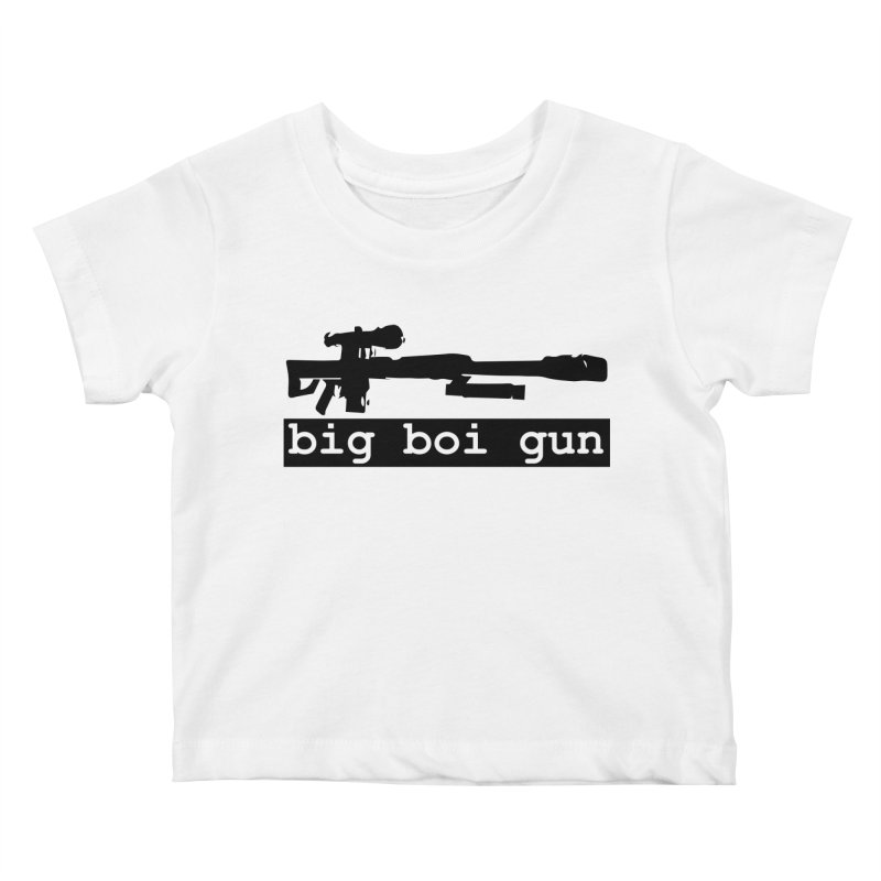 BBG aka Big Boi Gun Kids Baby T-Shirt by SixSqrlStore