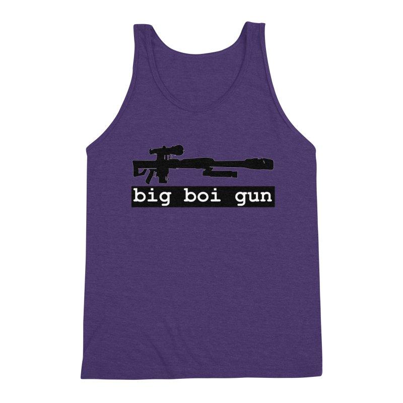 BBG aka Big Boi Gun Men's Triblend Tank by SixSqrlStore