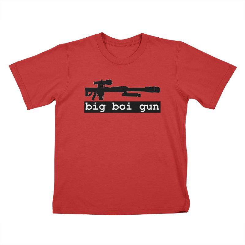 BBG aka Big Boi Gun Kids T-Shirt by SixSqrlStore