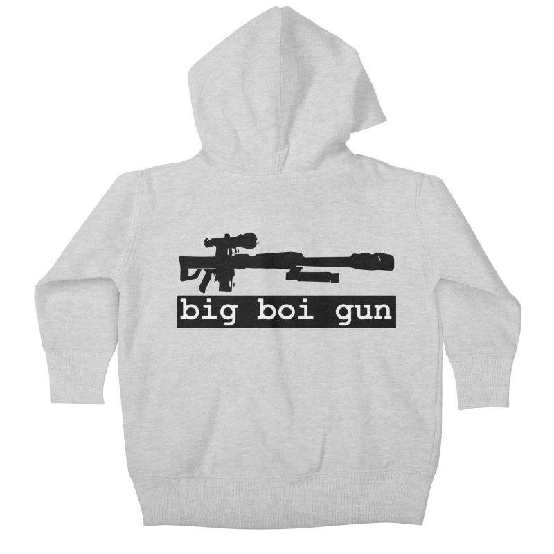 BBG aka Big Boi Gun Kids Baby Zip-Up Hoody by SixSqrlStore