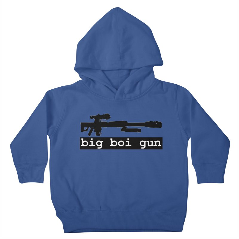 BBG aka Big Boi Gun Kids Toddler Pullover Hoody by SixSqrlStore