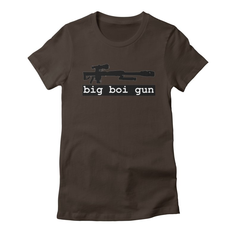 BBG aka Big Boi Gun Women's Fitted T-Shirt by SixSqrlStore