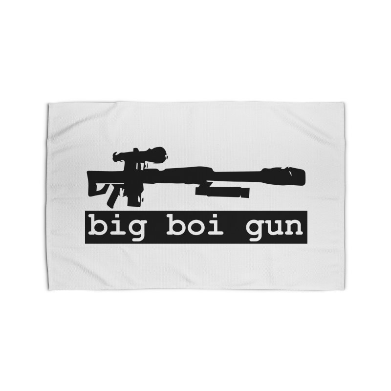 BBG aka Big Boi Gun Home Rug by SixSqrlStore