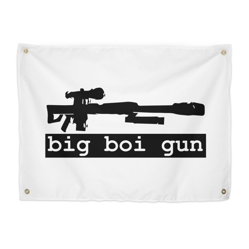 BBG aka Big Boi Gun Home Tapestry by SixSqrlStore