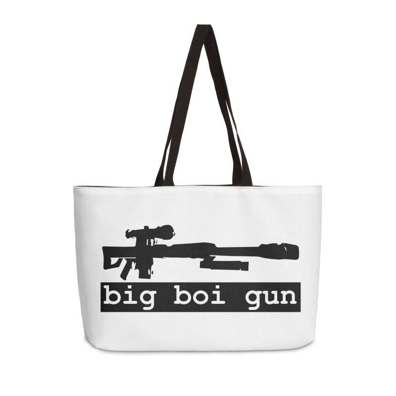 BBG aka Big Boi Gun Accessories Weekender Bag Bag by SixSqrlStore