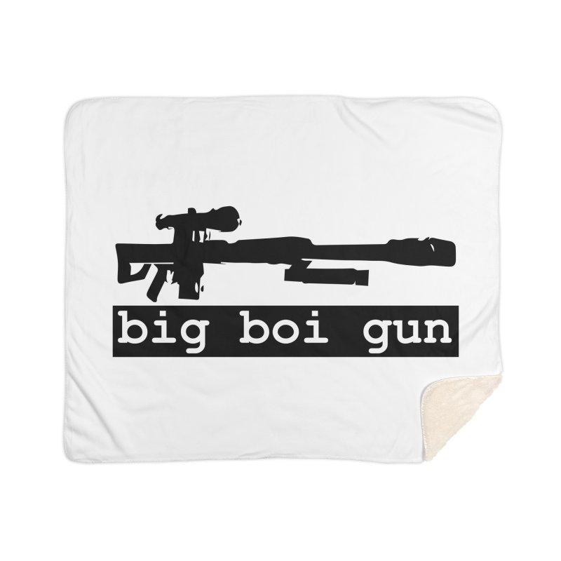 BBG aka Big Boi Gun Home Sherpa Blanket Blanket by SixSqrlStore