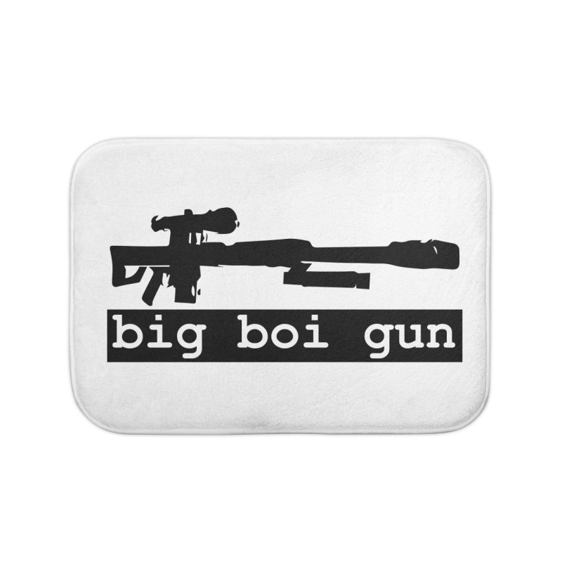 BBG aka Big Boi Gun Home Bath Mat by SixSqrlStore