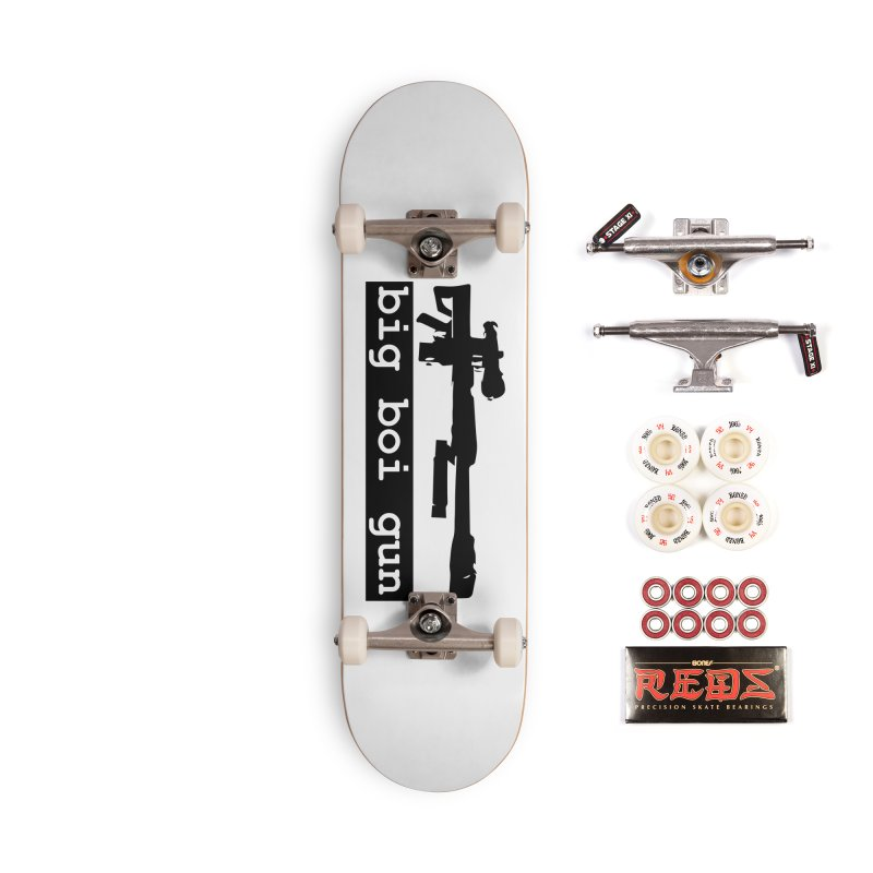 BBG aka Big Boi Gun Accessories Complete - Pro Skateboard by SixSqrlStore