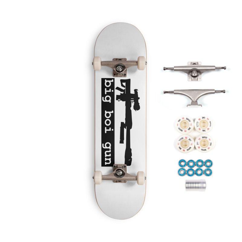 BBG aka Big Boi Gun Accessories Complete - Premium Skateboard by SixSqrlStore