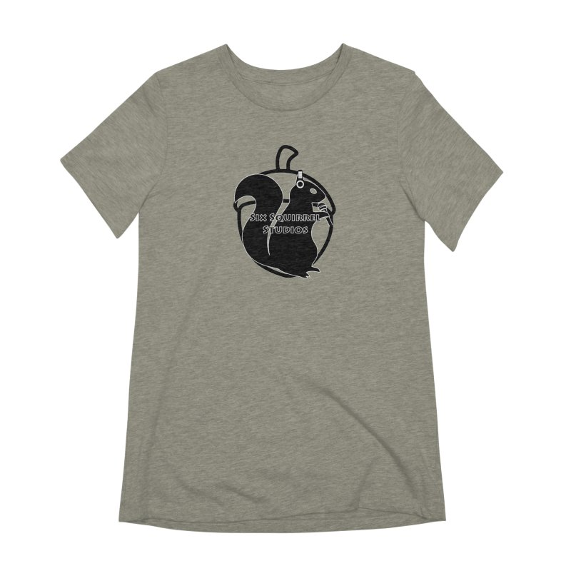 Classic Six Squirrel Studios Women's Extra Soft T-Shirt by SixSqrlStore