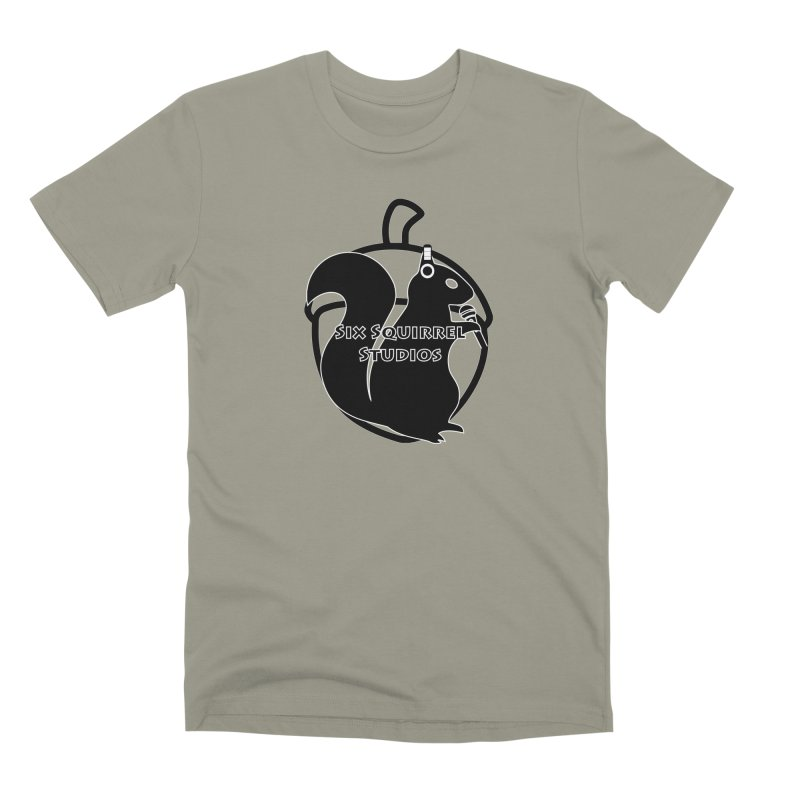 Classic Six Squirrel Studios Men's Premium T-Shirt by SixSqrlStore