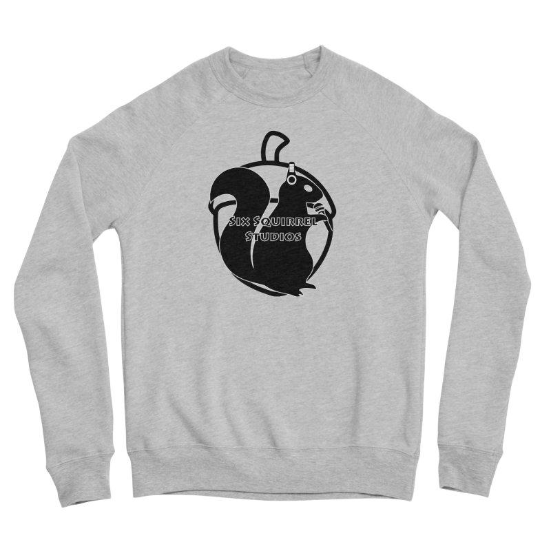 Classic Six Squirrel Studios Men's Sponge Fleece Sweatshirt by SixSqrlStore