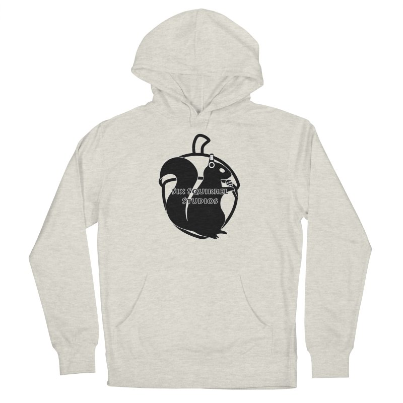 Classic Six Squirrel Studios Women's French Terry Pullover Hoody by SixSqrlStore