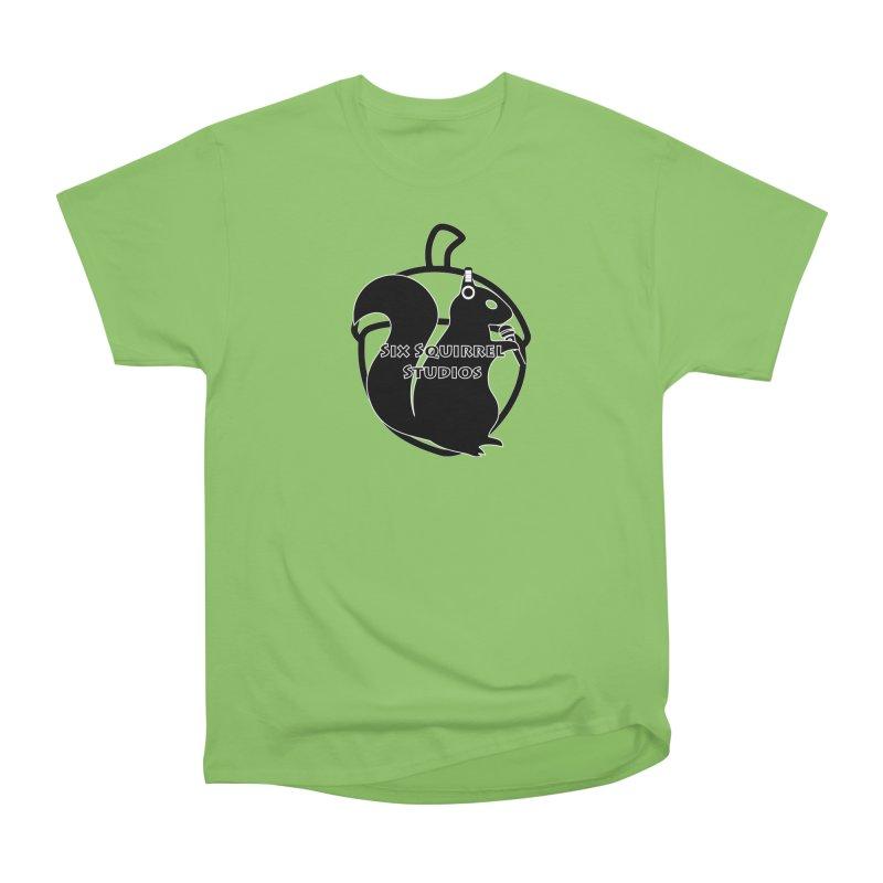 Classic Six Squirrel Studios Women's Heavyweight Unisex T-Shirt by SixSqrlStore