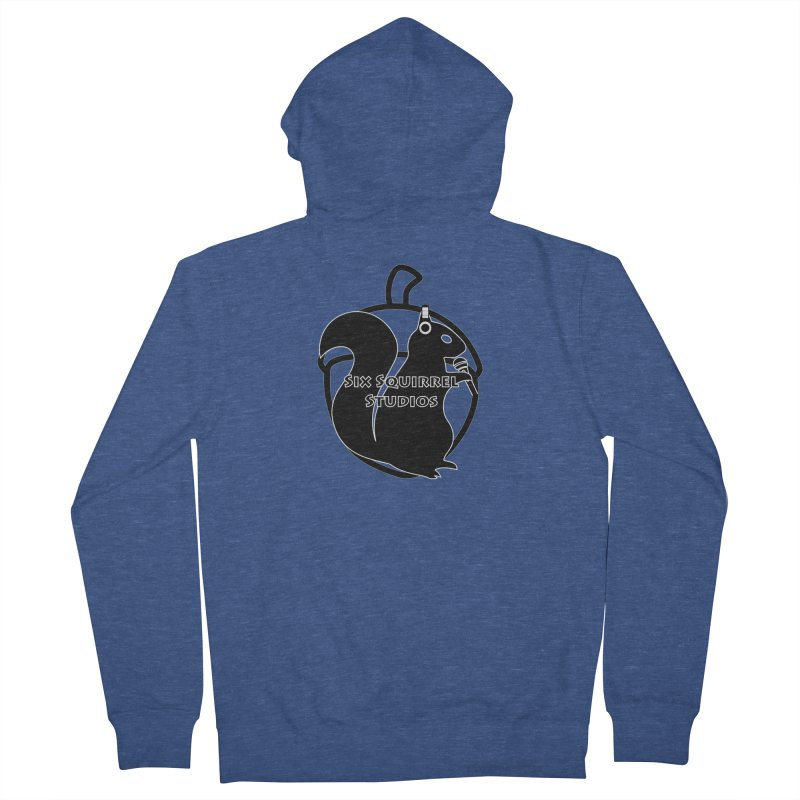 Classic Six Squirrel Studios Women's French Terry Zip-Up Hoody by SixSqrlStore