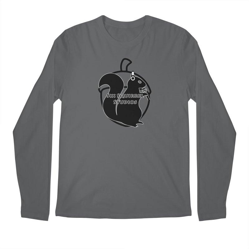 Classic Six Squirrel Studios Men's Longsleeve T-Shirt by The SixSqrlStore