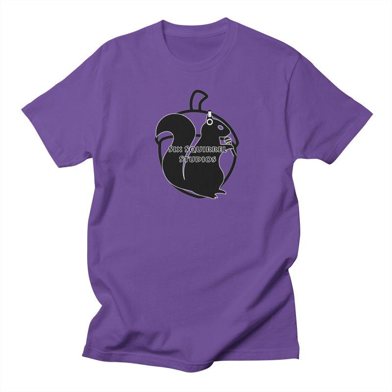 Classic Six Squirrel Studios Men's Regular T-Shirt by SixSqrlStore