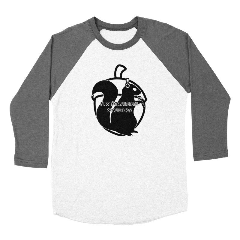 Classic Six Squirrel Studios Men's Baseball Triblend Longsleeve T-Shirt by SixSqrlStore