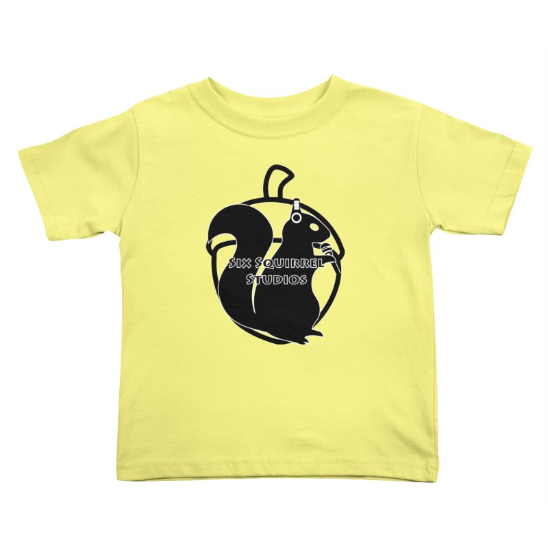 Classic Six Squirrel Studios Kids Toddler T-Shirt by SixSqrlStore