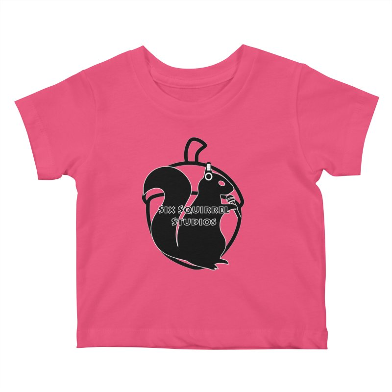Classic Six Squirrel Studios Kids Baby T-Shirt by SixSqrlStore