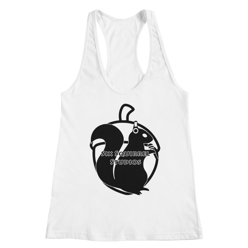 Classic Six Squirrel Studios Women's Racerback Tank by SixSqrlStore