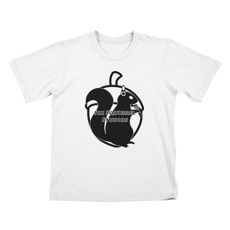 Classic Six Squirrel Studios Kids T-Shirt by SixSqrlStore