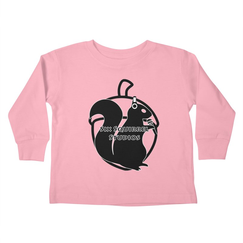 Classic Six Squirrel Studios Kids Toddler Longsleeve T-Shirt by SixSqrlStore