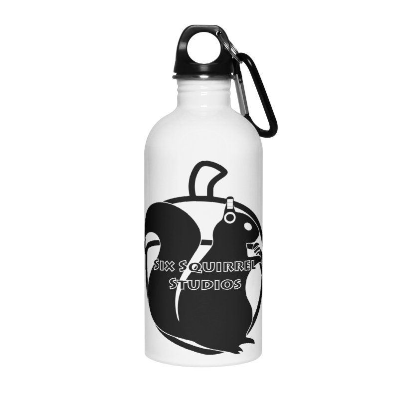 Classic Six Squirrel Studios Accessories Water Bottle by SixSqrlStore
