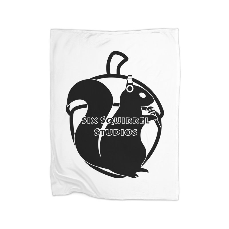 Classic Six Squirrel Studios Home Fleece Blanket Blanket by SixSqrlStore