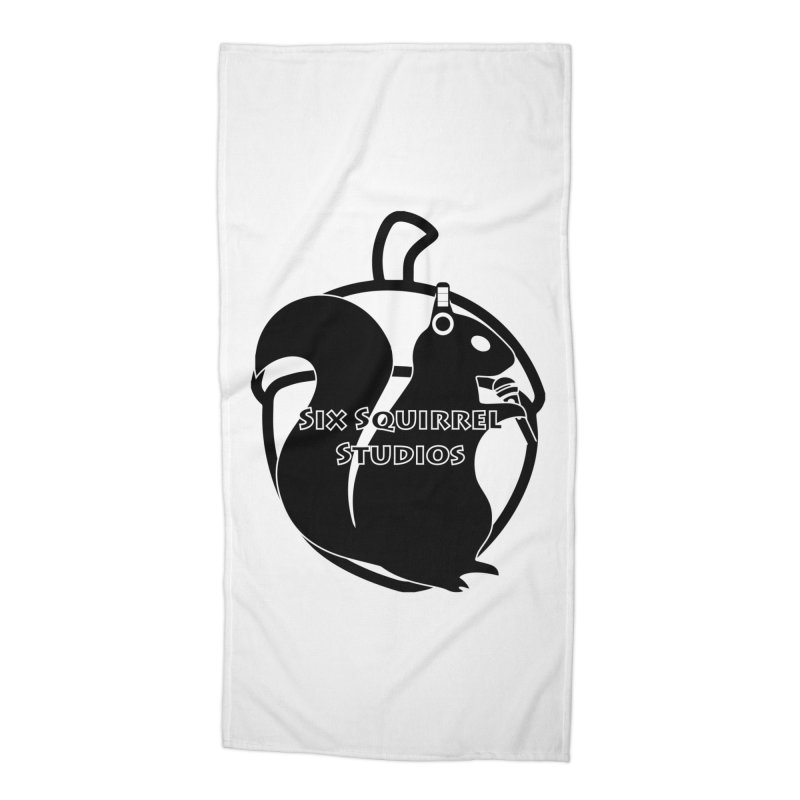 Classic Six Squirrel Studios Accessories Beach Towel by SixSqrlStore