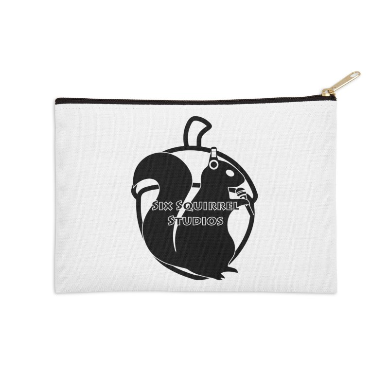 Classic Six Squirrel Studios Accessories Zip Pouch by