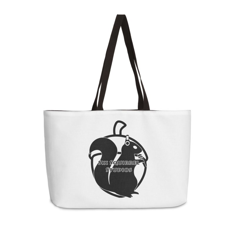 Classic Six Squirrel Studios Accessories Weekender Bag Bag by SixSqrlStore